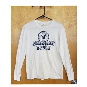 American Eagle Men's Long Sleeve Classic Fit